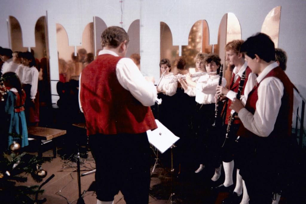 Fernsehaufnahmen 1986
