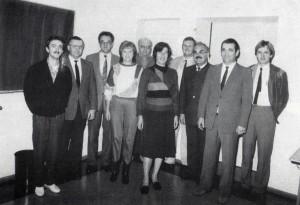 Gründungsvorstandschaft 1985