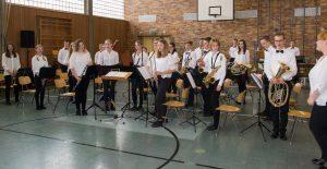Das Schüler- und Jugendorchester Küps beim Wertungsspiel in Kirchehrenbach. - Foto R. Stägemeier